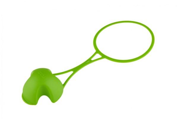 Zdravá láhev krytka FLOPPY® Zelená RBKFZE