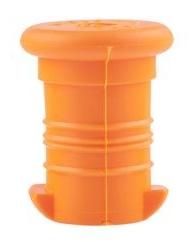 Zdravá lahev Zátka oranžová VPZ1505