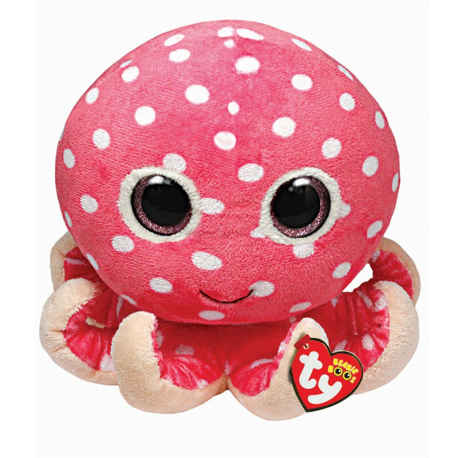 TY Beanie Boos chobotnice pink 9˝