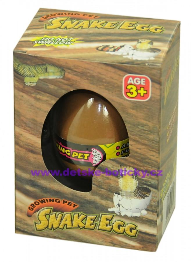 Growing pet snake egg líhnoucí vejce had