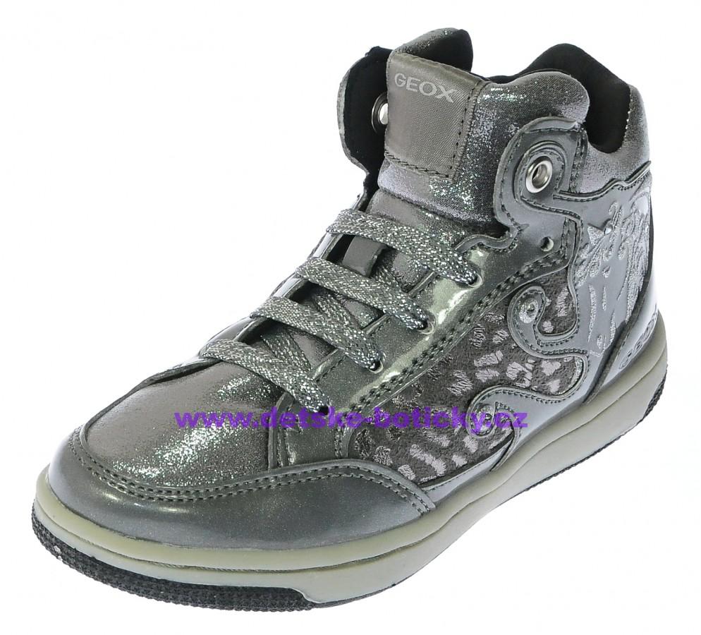 Geox J54L5A 0DHKN C1007 silver