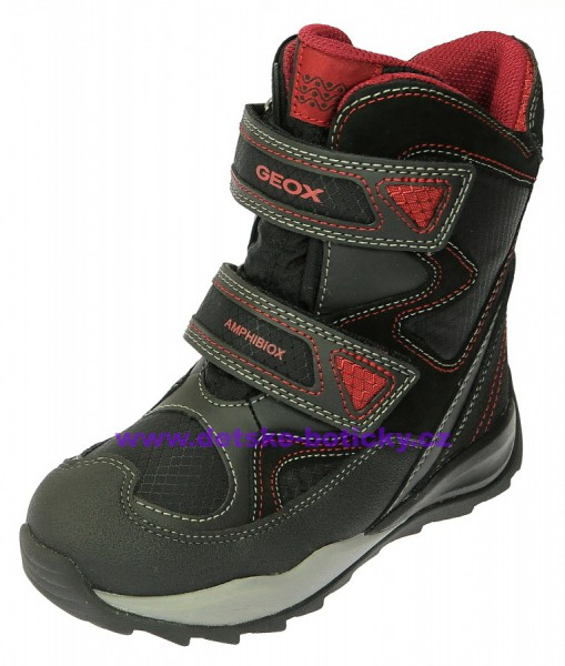 Geox J640BC 0FU22 C0048 black/red