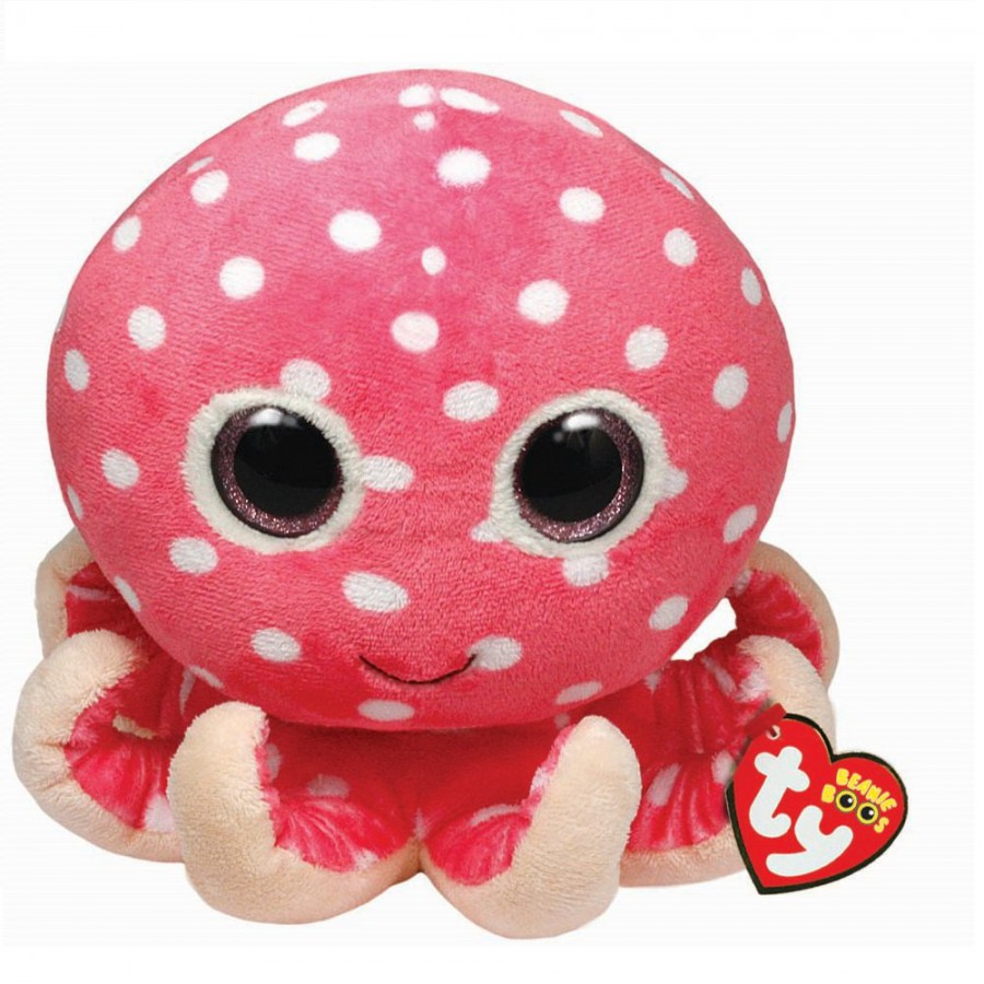 TY Beanie Boos chobotnice pink 6˝
