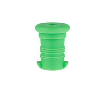 Zdravá lahev Zátka zelená fluo VPZ802