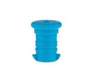 Zdravá lahev Zátka modrá fluo VPZ801