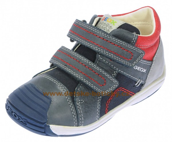 Geox B6446A 0CL10 C0735 navy/red