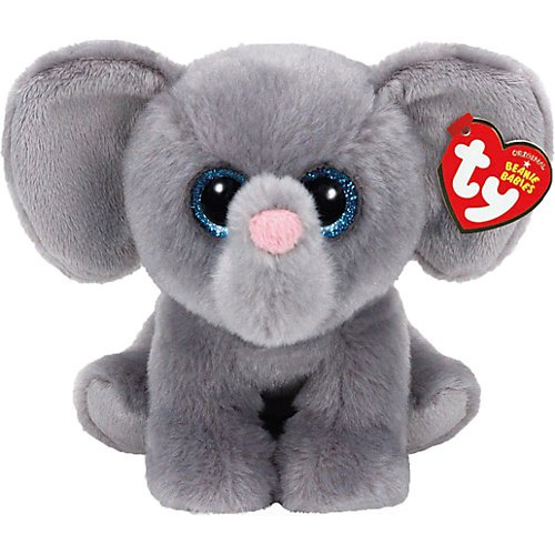 <p>Ty Classics Whopper the Grey Elephant Medium Plush</p>