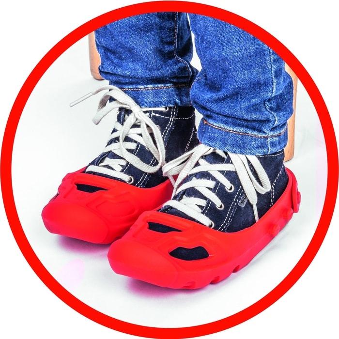 9f49a8a2d16 ... Fotogalerie  Big Shoe Care Ochranné návleky modré - chránič na obuv ...