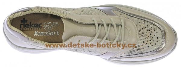 Fotogalerie: Rieker L3229-80 silber/platin