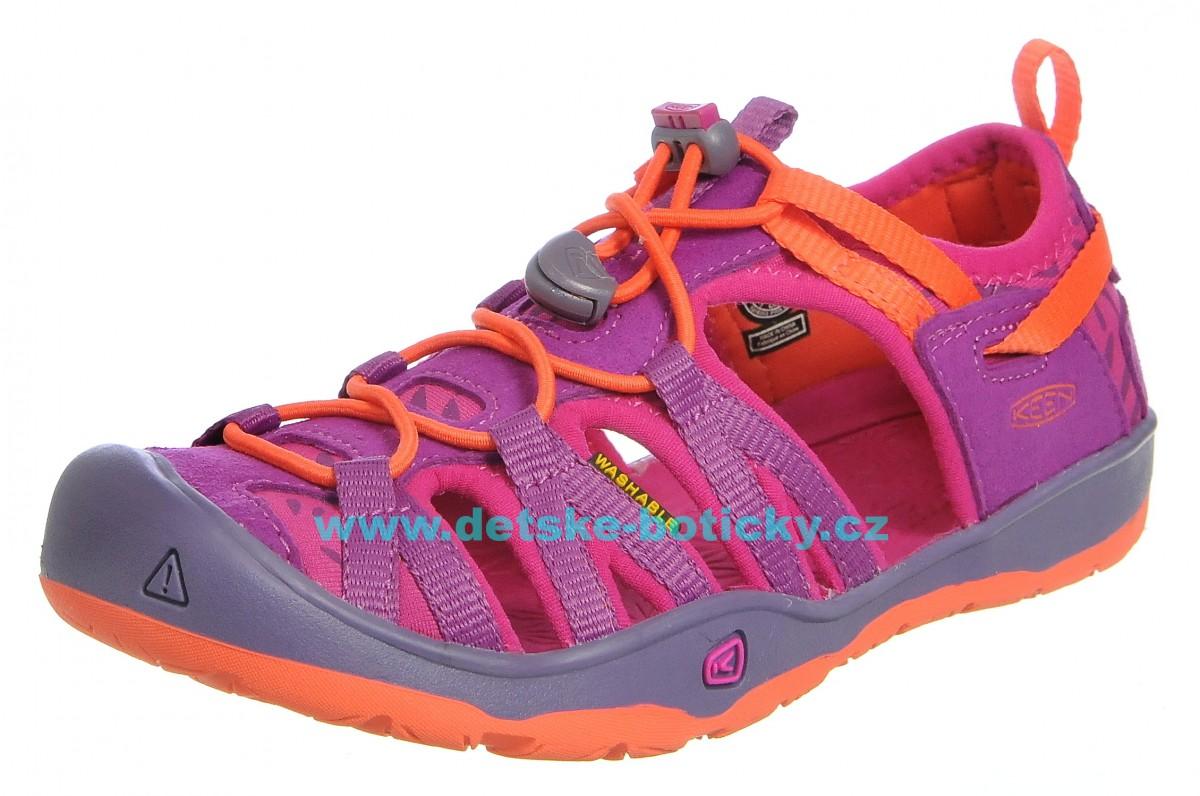 Keen Moxie sandal purple wine/nasturtium 1016356 1016353