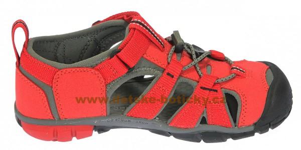 Fotogalerie: Keen Seacamp II CNX racing red/gargoyle 1014470 1014478