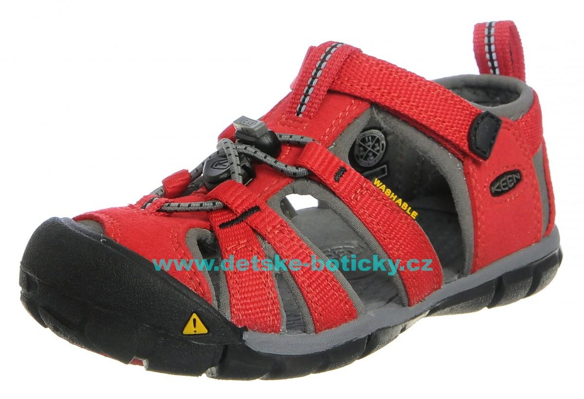 Keen Seacamp II CNX racing red/gargoyle 1014470 1014478