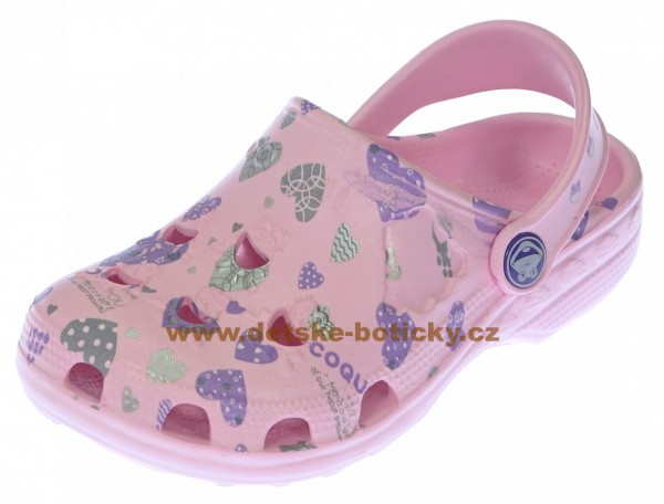 COQUI LITTLE FROG printed 8714 pink