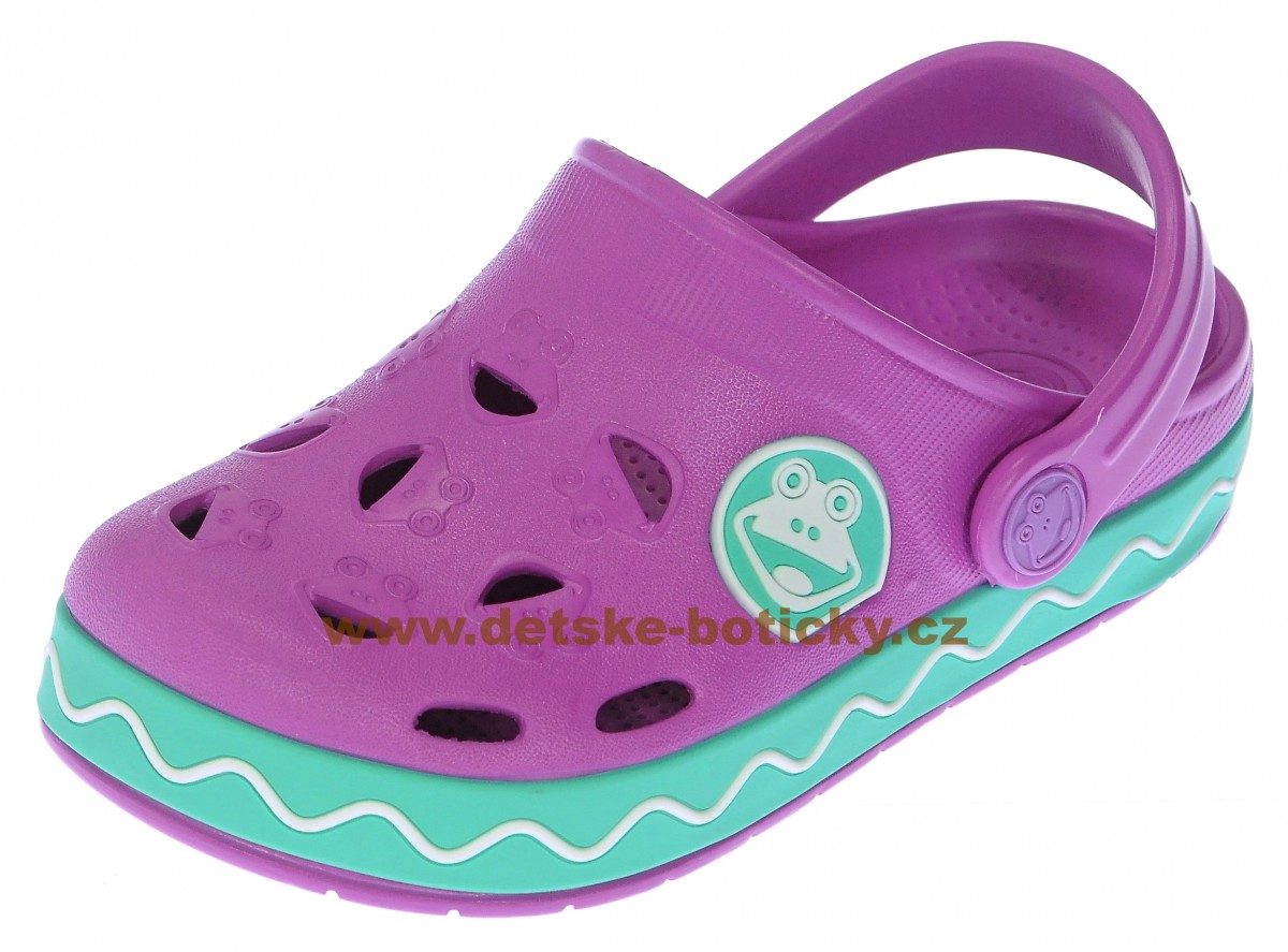 COQUI FROGGY 8801 new purple/mint