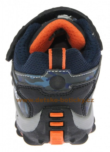 Fotogalerie: Geox J4473A 05411 C0659 navy/orange
