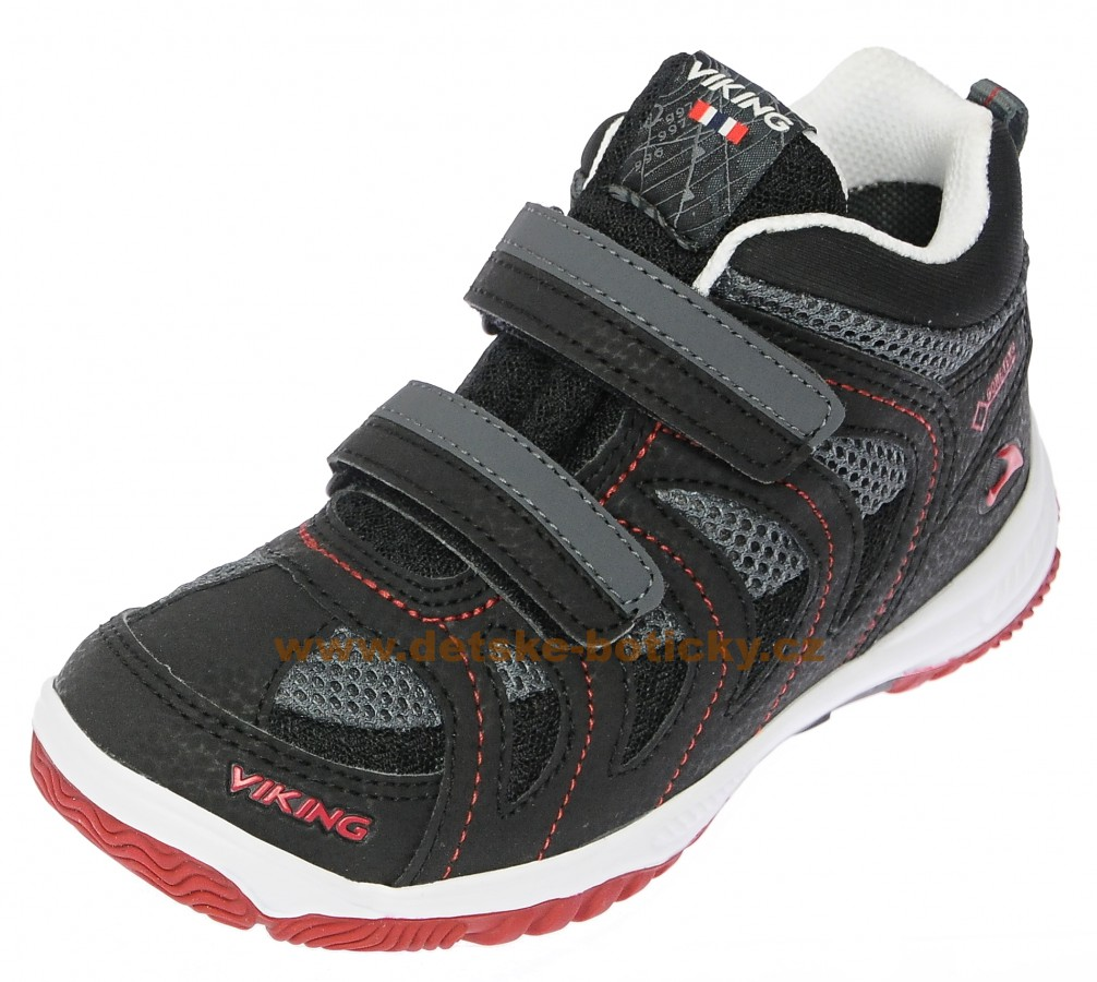 Viking 3-46510-210 Cascade II mid GTX blk/red
