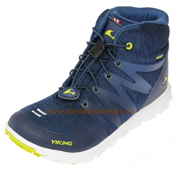 Viking 3-47406-588 Bislett mid GTX navy/lime