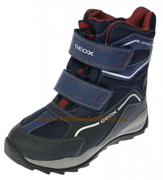 Geox J740BE 0FU54 C4335 navy/bordeaux