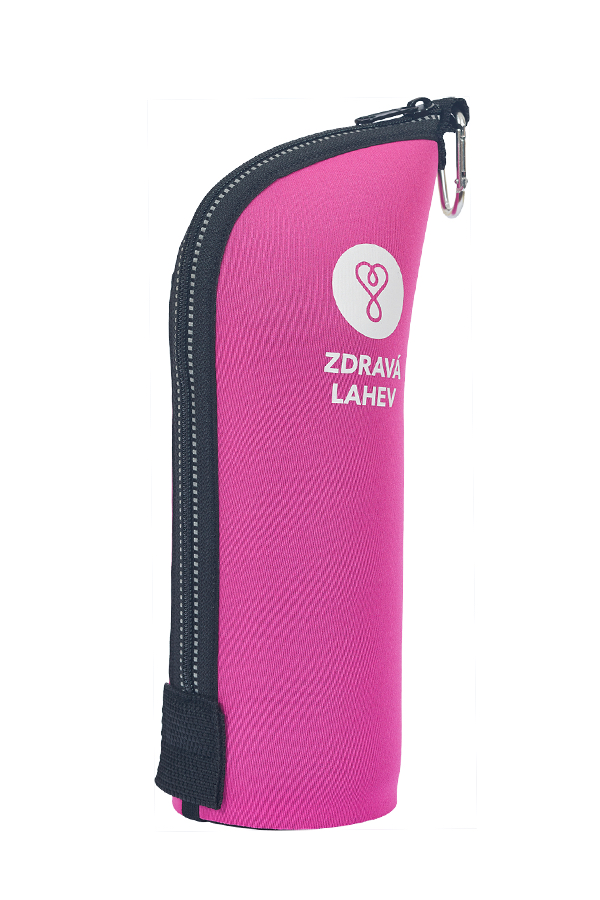 Zdravá lahev TOCR07R Termoobal CABRIO reflex 0,7l růžový