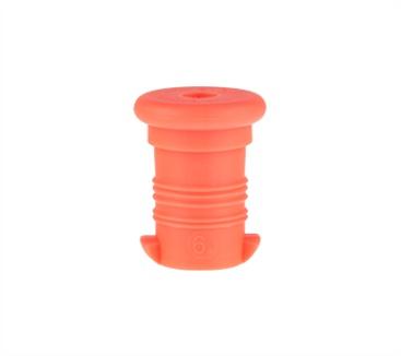 Zdravá lahev VPZ805 Zátka oranžová fluo