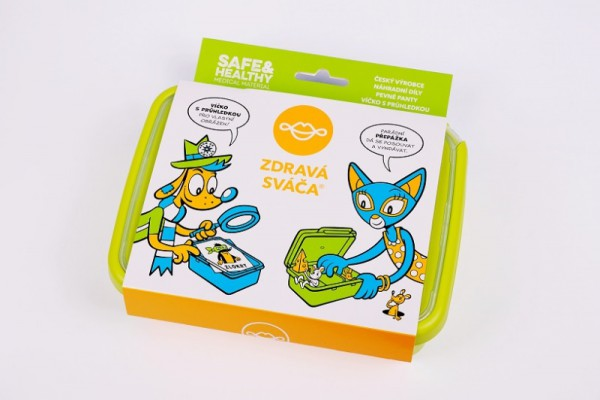 Fotogalerie: Zdravá sváča VZS18752 komplet box zelená 382