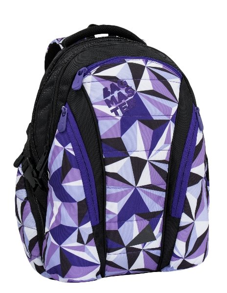 Bagmaster BAG 6 A BLACK/VIOLET