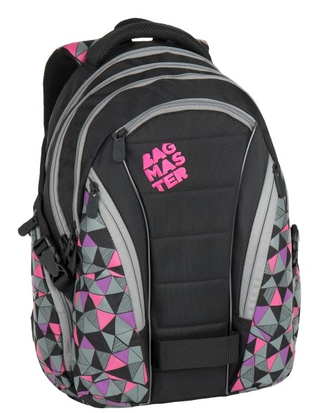 Bagmaster  BAG 7 C BLACK/PINK/GREY
