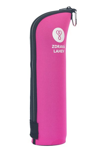 Zdravá lahev TOCR10R Termoobal CABRIO reflex 1,0l růžový