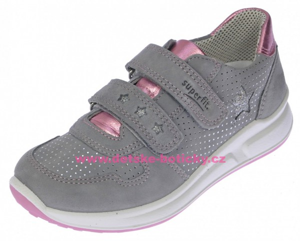 Superfit 2-00187-44 Merida Halbschuh smoke kombi