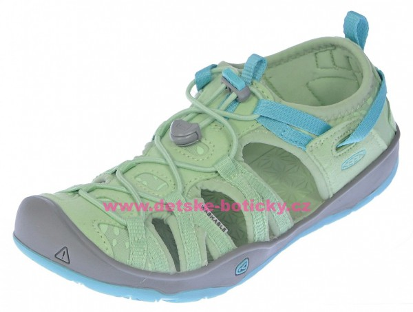 Keen Moxie sandal quiet green/aqua sea 1018096 1018098