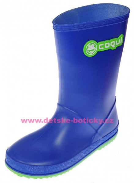 Coqui RAINY 8506 blue lime holínka 102469