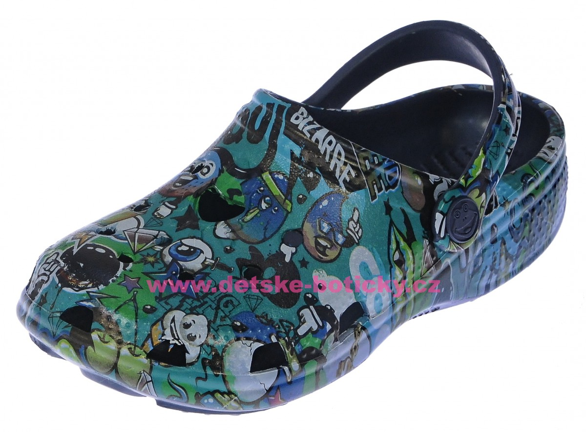 Coqui Big Frog Printed 8115 navy