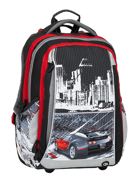 Bagmaster MERCURY 8 B BLACK/WHITE/GRAY/RED