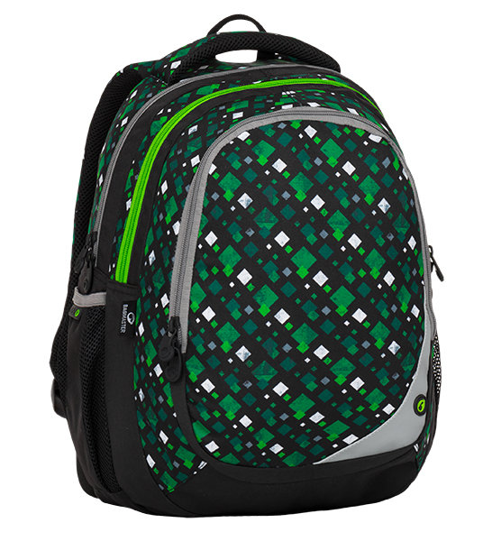 Bagmaster MAXVELL 8 B BLACK/GREEN/WHITE