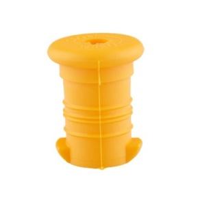 Zdravá lahev Zátka tmavě žlutá VPZ1235