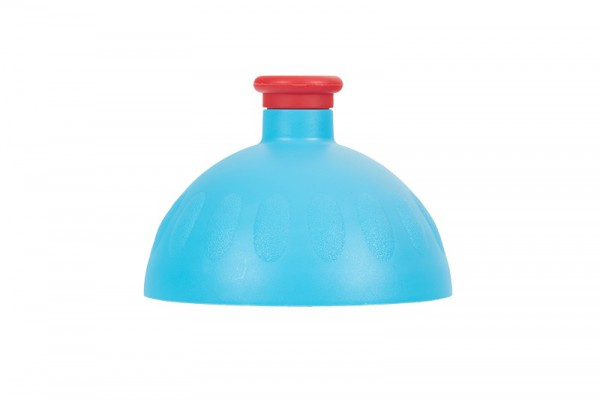 Zdravá lahev Víčko středně modré/zátka červená VPVZ0239