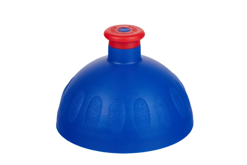 Zdravá lahev Víčko tmavě modré/zátka červená