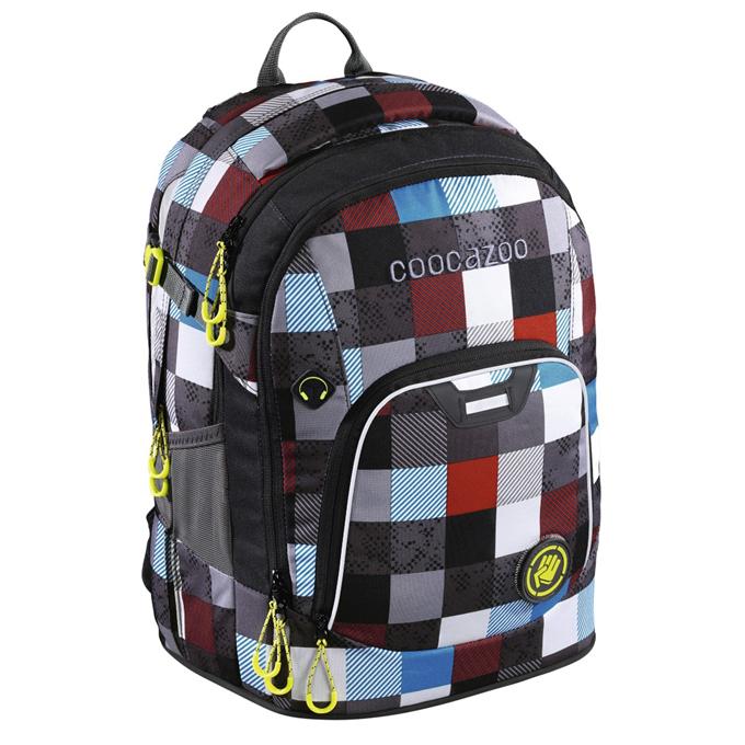 Hama 139270  Školní batoh Coocazoo RayDay Checkmate Blue Red