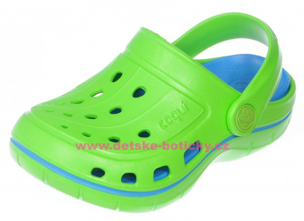 Coqui Jumper 6353 lime/sea blue