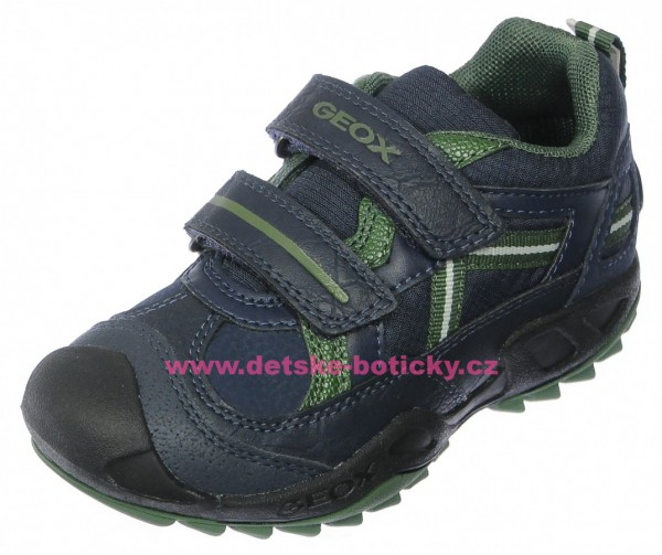 Geox J741VA 0FU54 C4248 navy/green