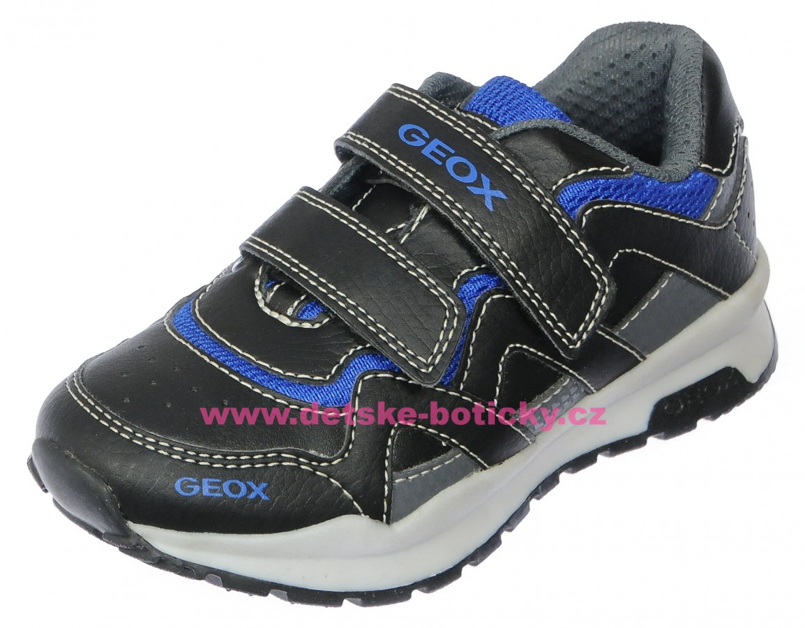Geox J7415A 0BU11 C0245 black/royal