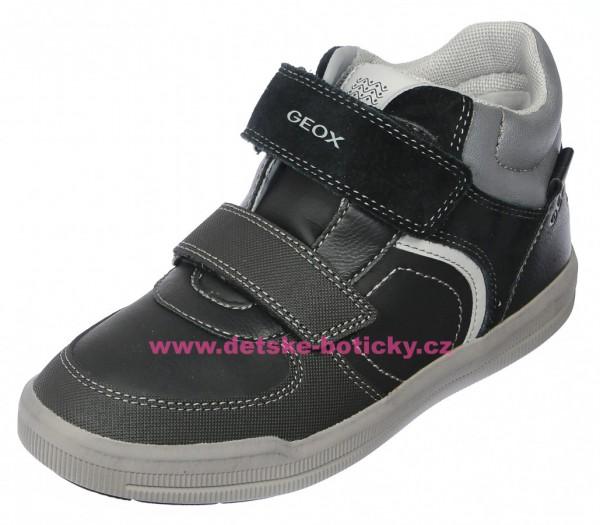 Geox J844AB 05422 C0005 black/dk grey