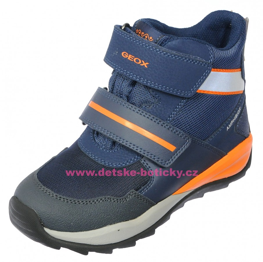 Geox J840BA 011BC C0057 blue/orange