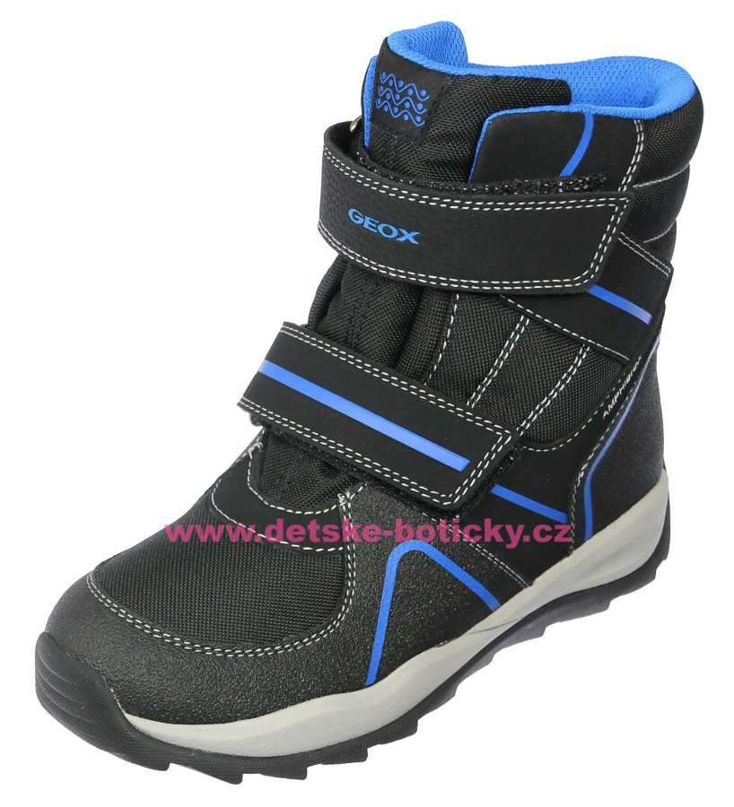 Geox J840BB 011CE C0245 black/royal