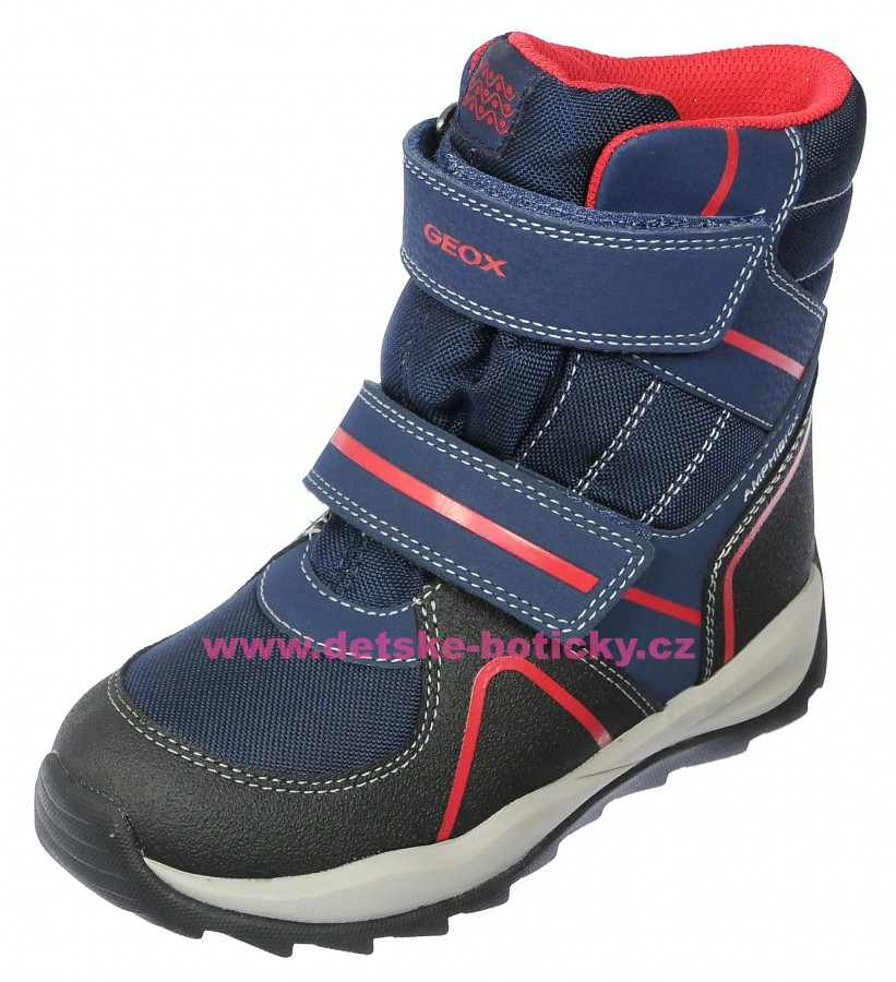 Geox J840BB 011CE C0735 navy/red