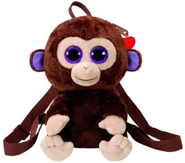 945d33c41d28 TY Fashion - plyšový Batoh Opice Coconut