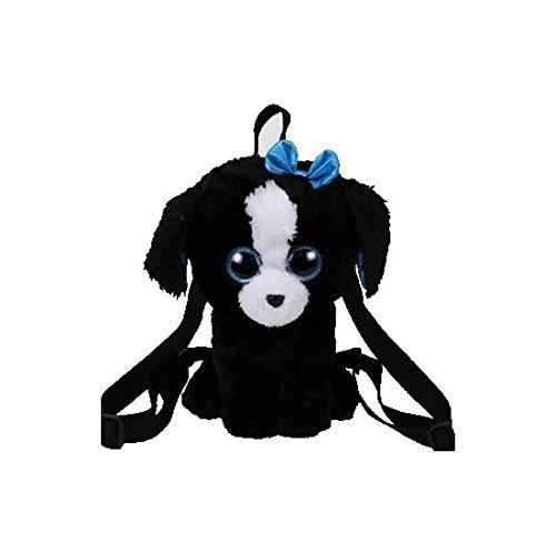 TY Fashion - plyšový batoh Pejsek černo-bílý Tracey