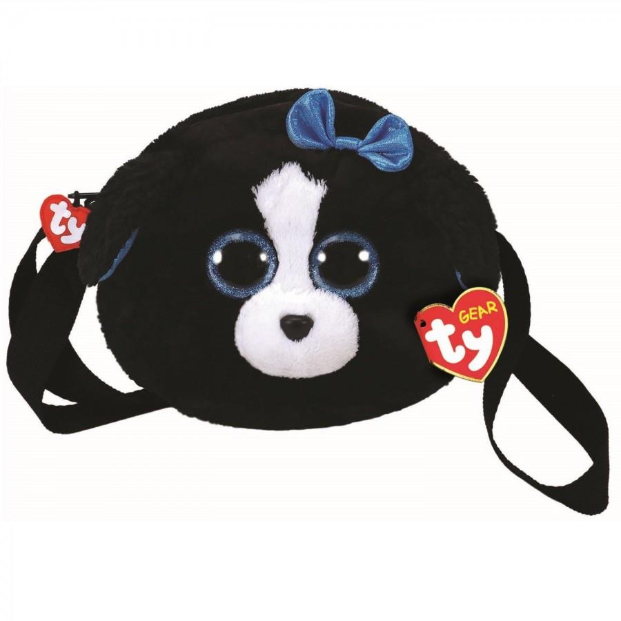 TY Fashion - plyšová kabelka do ruky - pejsek Tracey