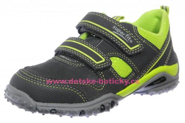 Superfit 3-09224-20 Sport4 grau/grun