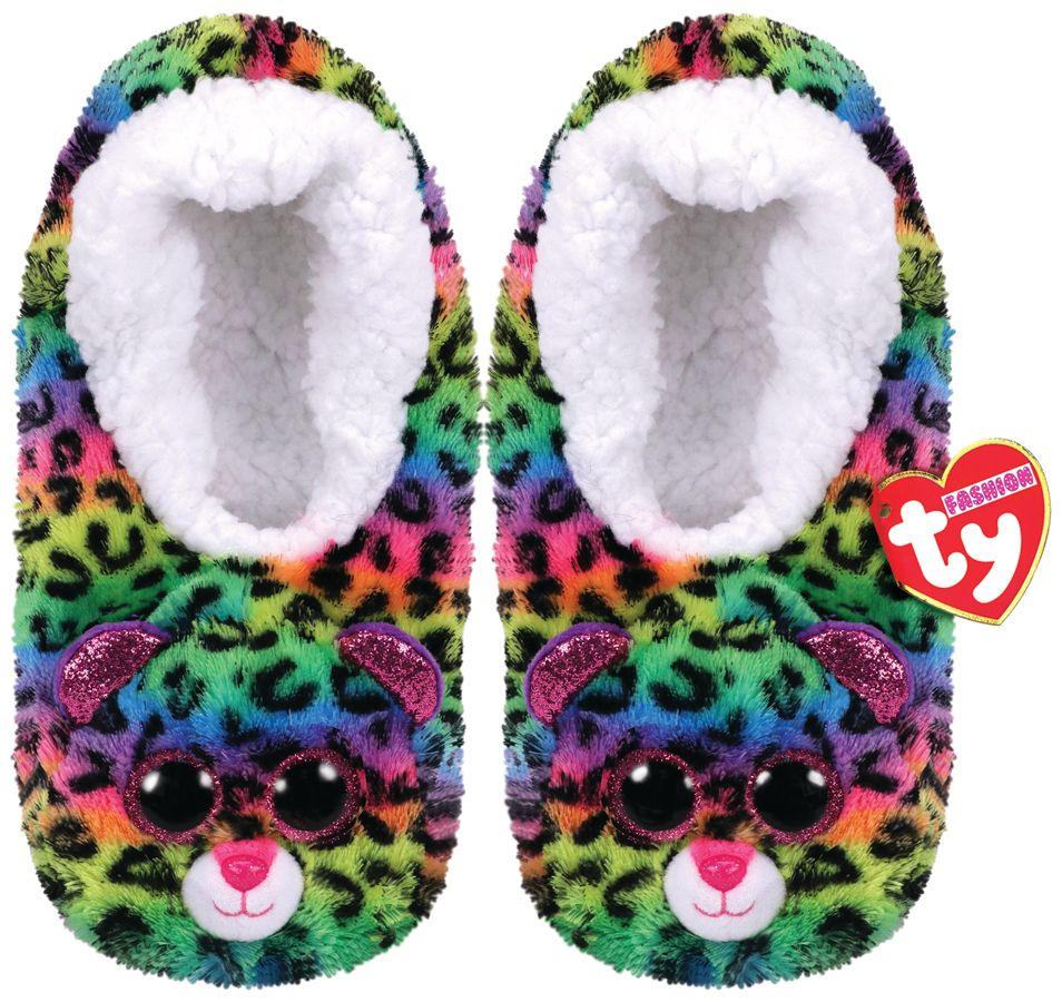 Ty Gear bačkůrky DOTTY - barevný leopard